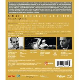 Solti: Journey Of A Lifetime (100th Anniversary Of Solti) (Chicago Symphony Orchestra/ Sir Georg Solti) (C Major: 711804) [Blu-ray] [2012][Region A & B]